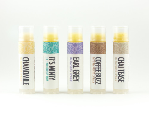 Natural Tea Flavoured Lip Balms