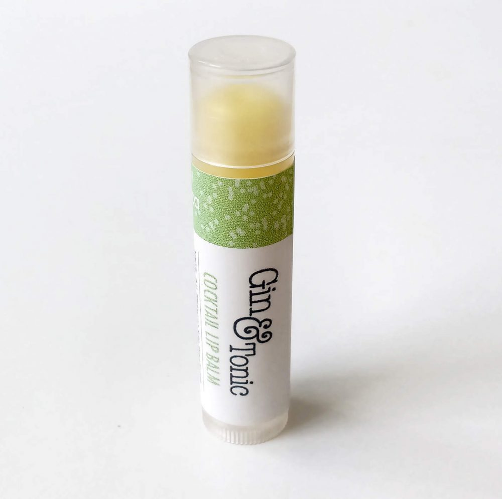 Gin & Tonic Natural Lip Balm,
