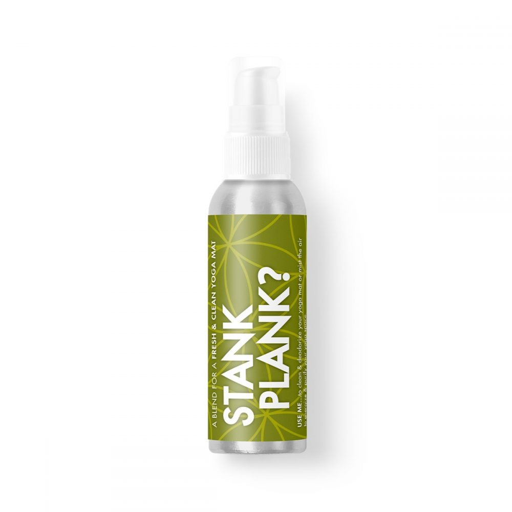 Stank Plank Yoga Mat Disinfectant Cleaner Essential Oil Spray