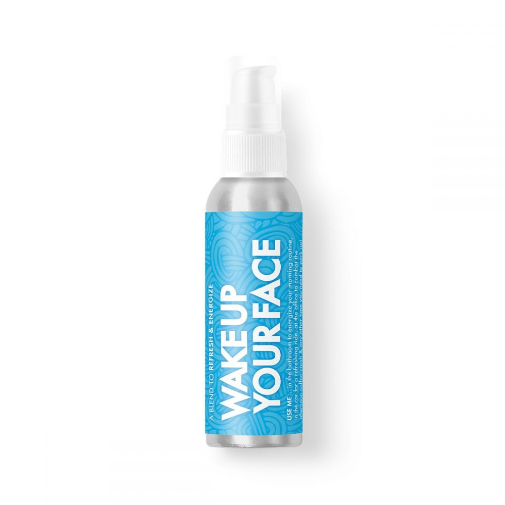 Wake Up Your Face Revitalizing Mint Essential Oil Spray
