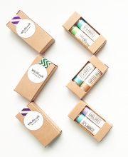 whiffcraft natural lip balm set